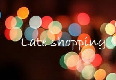 Late shopping