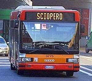sciopero bus