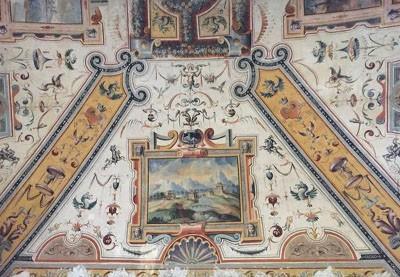 palazzo-daccursio-volta-antica-decorata-controsoffitto-guidadibologna-bologna